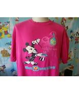 Vintage 80's Walt Disney World 20 Years Mickey Mouse T Shirt XL  - $24.74