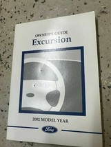 2002 FORD TRUCK Excursion Owners Operators Owner Manual OEM - $18.76