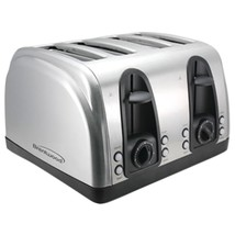 Brentwood 4-slice Elegant Toaster With Brushed Stainless Steel Finish BT... - €62,41 EUR