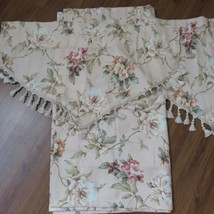 Croscill Savoir Faire Retired Beaded Valance Draperies Curtains Lined - $227.65