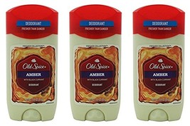 Old Spice Amber Fresher Collection Invisible Solid Men's Deodorant 3 Oz Pack of  image 1