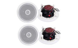 "New Pyle 6.5"" 500W 2 Way Round In Wall/Ceiling Home Speakers System Audio - $129.99"