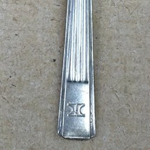 Hilton Hotel Small Spoon Silver Plate International Silver Co 6 Inch Adv... - $18.99