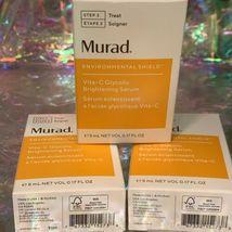 Full Sz NIB Murad ExfoliatingToner, Exfoliating Cleanser, Vit C Glycolic Serum image 3