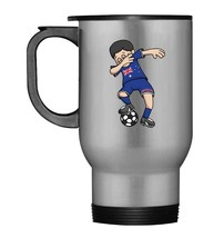 Australia Soccer Dabbing Football Player Fan Travel Mug - $21.99