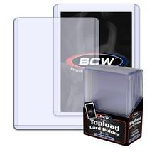 "50 BCW 3.5mm Thick 3"" x 4"" Toploaders - 138 PT Jersey Memorabilia Holder - $15.15"