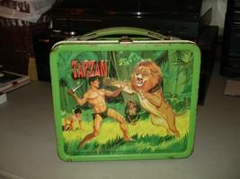 Vintage 1966 Tarzan Aladdin Lunchbox (No Thermos) VG Condition - $49.49