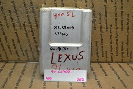 1990 Lexus LS400 Engine Control Unit ECU 8954150020 Module 400-2E2 - $9.49