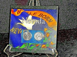 Two Uncirculated Nevada State Quarters AA19-CNQ6032