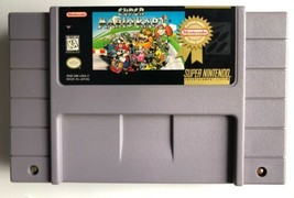 ☆ Super Mario Kart (Super Nintendo 1992) SNES AUTHENTIC Video Game Cart Works ☆ - $29.99