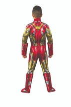 Rubies Marvel Avengers 4 Endspiel Iron Man Deluxe Kinder Halloween Kostüm 700670 image 2