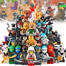 32pcs/set Ninjago Forbidden Spinjitzu Skulkin & Blizzard Samurai Minifigure - $59.99