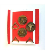 Set of 6 U.S. USA United States of America Army Military Badges - $14.50