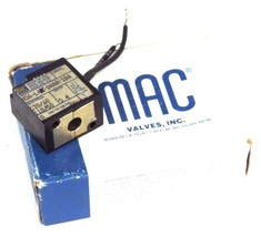 MAC 45A-LAK-DAAA-1BA VALVE COIL 110-120V 50/60HZ 5.4WATT 45ALAKDAAA1BA image 1