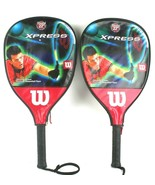 Pair of Wilson Xpress Cliff Swain Stretch 22 Racquetball Racket Rackets - $33.63