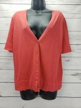 Ann Taylor Loft Size M 3/4 Sleeve Button Down Cardigan Sweater NWT - $14.20