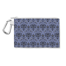 Haunted Mansion Wallpaper Canvas Zip Pouch - $14.99+