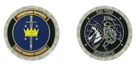 """LACKLAND AIR FORCE BASE 324TH TRS TRAINING SQUADRON KNIGHTS 1.75"""" CHALLE... - $16.24"""