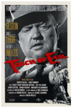 1998 TOUCH OF EVIL Movie POSTER 27x40 40th Ann Release Orson Welles Sing... - $34.99