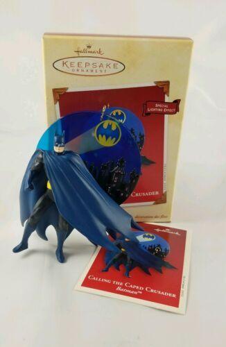 Hallmark Keepsake Ornament Calling the Caped Crusader Batman Lighting Effect  image 3