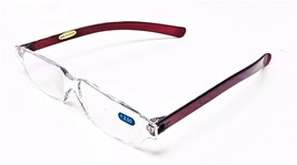 Clear Lens Rimless Reading Glasses Flexible Arms 4 Colors +1.00 ~ 3.50 - $5.45