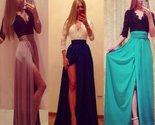 Daisy dress for less maxi dress sweet high slit lace top maxi dress 1371913486367 thumb155 crop