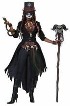 Voodoo Magic Queen Halloween Costume Adult Women M 8-10 Black - $74.99