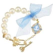 Disney Store Japan Limited Item Character Cinderella Pearl Cameo Bracelet - $112.86