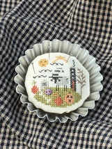 Little Black House Tin Kit halloween cross stitch kit by Shepherd's Bush     - $20.00