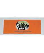 RARE Fruitopia Tremendously Tangerine Discontinued Soda Soft Drink Tag Sign - $12.85