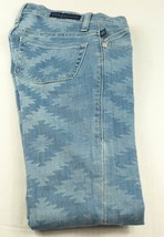 Rock & Republic Dream Catcher Aztec Print Berlin Skinny Stretch Jeans Si... - $8.99