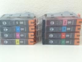 Genuine Canon CLI-8 Ink Multi-Pack (8 Colors) for PIXMA Pro9000, Pro9000... - $83.59