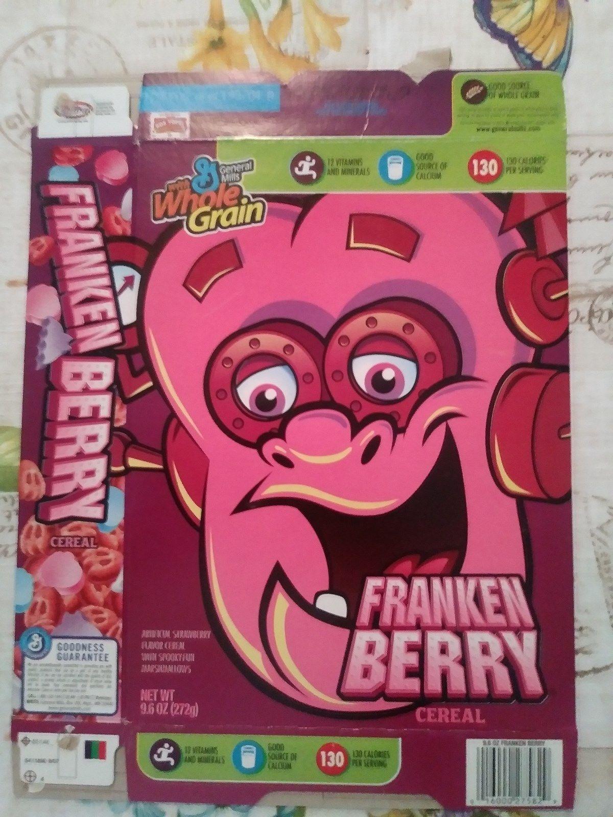 FrankenBerry General Mills  Cereal Box  - $15.00