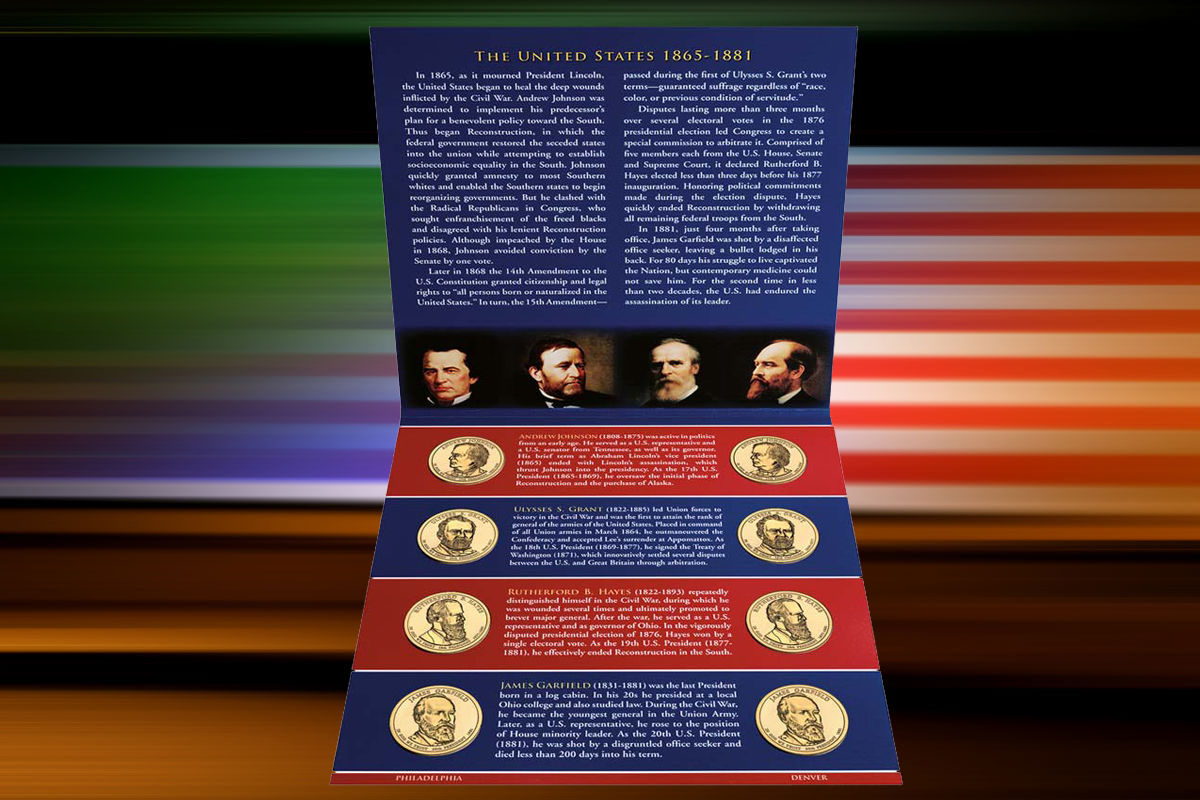 Primary image for 2011 P&D US MINT SEALED PRESIDENTIAL  8 COIN UNCIRCULATED DOLLARS SET