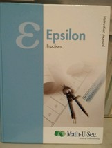 Math U See Epsilon Instruction Manual 2012 - $23.22