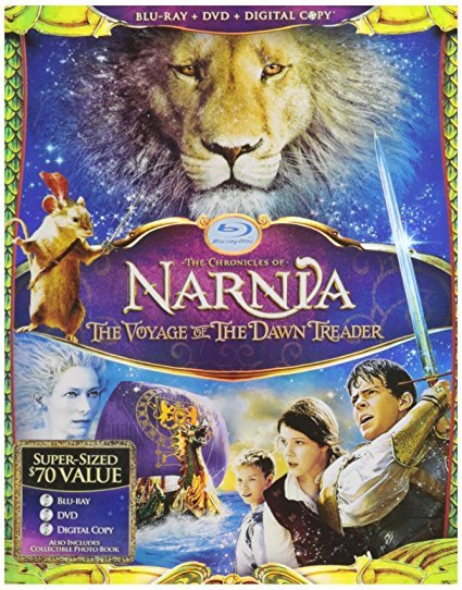 The Chronicles of Narnia: The Voyage of the Dawn Treader (Blu-ray / DVD) New