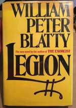 LEGION William Peter Blatty- first edition, SIGNED -COA- Sequel to The E... - $637.00