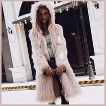 White Shaggy Long Sleeve Tuscan Spotted Leopard Cat Faux Fur Short Coat Jacket image 1