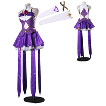 LOL Star Guardian The Dark Sovereign Syndra Cosplay Costume Uniforms - $135.69