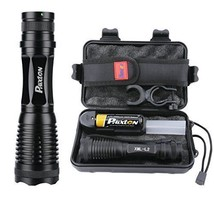 L2 LED Flashlight Phixton Tactical Military Police Handheld 1200lm Zoomable - $25.64