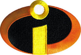 Walt Disney's The Incredibles Movie Group i Logo Embroidered Patch Small... - $7.84