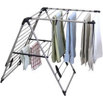 Indoor Outdoor Drying Center Stainless Steel Extra Large Mesh Rack Shelf... - $44.54