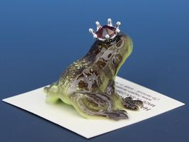 Birthstone Frog Prince Kissing July Ruby Miniatures by Hagen-Renaker image 3