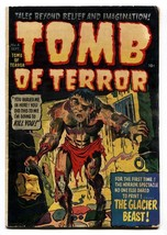 TOMB OF TERROR  #4 comic book-PCH-MONSTER COVER-DECAPITATION-SKULLS-HORR... - $136.58