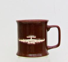 CERAMIC SOURCE Mug Cup 3D Relief Raised Airplan... - $14.49