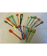 Lot of Vintage Swizzle Sticks from Airlines and Foreign Countries - £7.67 GBP