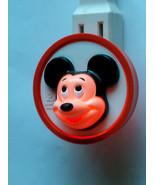 Vintage Original 1970's Mickey Mouse Walt Disney General Electric Night ... - $9.41