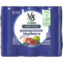 V8 Pomegranate Blueberry, 8 oz. Can (4 packs of 6, Total of 24) - $21.20