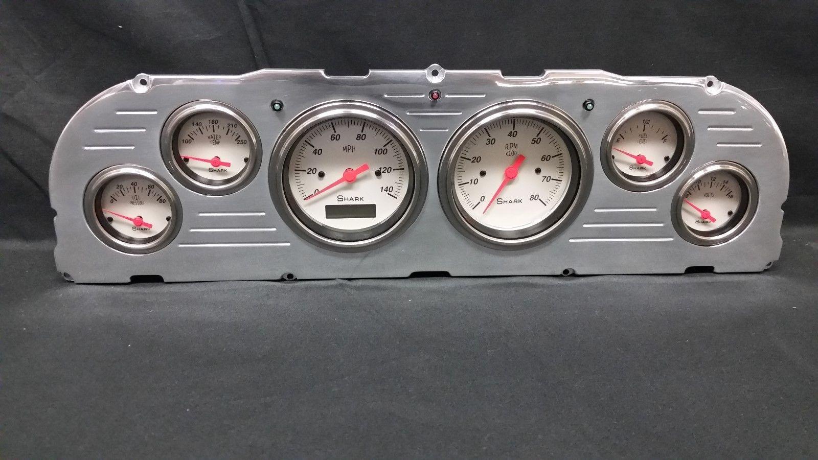 1963 chevy truck instrument panel