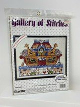 Bucilla Gallery of Stitches Cross Stitch Kit 33291 Noah's Ark Frame Included - $14.84